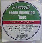 Xpress It Foam Mounting Tape 12mm