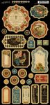 Graphic 45 - French Country Collection - Chipboard 1