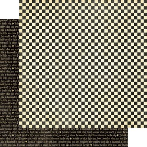 Graphic 45 - Mother Goose - Paper - Checkers