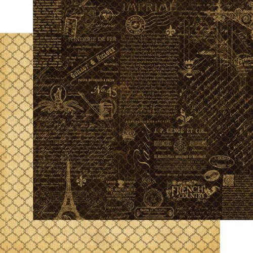 Graphic 45 French Country Collection Montage Patterned