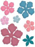 "Heartfelt Creations - Cut & Emboss Dies - Vintage Floret, 1"" To 3"""