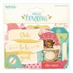 My Minds Eye - Hello Gorgeous - Mixed Bag Cardstock Die-Cuts 44/Pkg