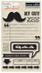 Teresa Collins Designs - He Said - Stamps