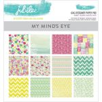 My Mind's Eye - Sherbet Jubilee Collection - 6x6 Paper Pad
