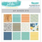 My Mind's Eye - Tangerine Jubilee Collection - 6x6 Paper Pad