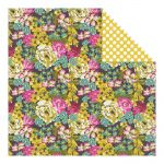 My Minds Eye - Kate & Co. - Cambridge Court - Bright Florals - Paper