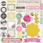 My Minds Eye - Kate & Co. - Cambridge Court 12x12 Sticker Accessories
