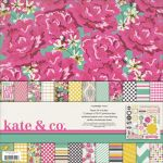My Minds Eye - Kate & Co. - Cambridge Court Paper & Accessories Kit