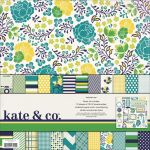 My Minds Eye - Kate & Co. - Oxford Lane Paper & Accessories Kit