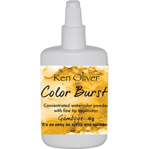 Ken Oliver Crafts - Color Burst Powder 6gm - Gamboge