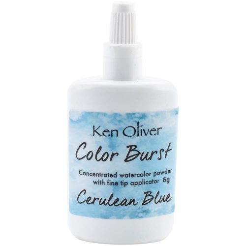 Ken Oliver Crafts - Color Burst Powder 6gm - Cerulean Blue