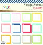 Simple Stories - Life Documented - Calendar Paper Kit