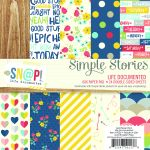 Simple Stories - Life Documented - 6x6 Paper Pad