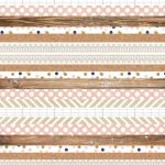 Teresa Collins Designs - Life Emporium Collection - Multi Stripe Paper