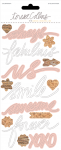 Teresa Collins Designs - Life Emporium Collection - Vellum Words