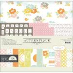 Authentique - Miracle Collection - Girl Kit 12x12 - Baby Girl - 0ver 700 Pieces