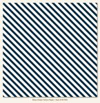My Mind's Eye - Necessities - Blues Stripe Vellum Paper