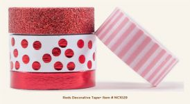 My Mind's Eye - Necessities - Reds Decorative Tape
