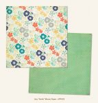 My Mind's Eye - Now and Then - By Jen Allyson - Smile Bloom 12 x 12 Double Sided Patterned Paper