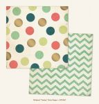 My Mind's Eye - Now and Then - By Jen Allyson - Today Dots 12 x 12 Double Sided Patterned Paper