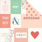 "My Minds Eye - On Trend - Awesome ""Awesome"" Double-Sided Cardstock 12""X12"""
