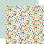 "Echo Park Paper Company - Paper and Glue - 12x12"" Paper - Little Flowers"