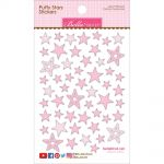 "Bella Blvd - Puffy Stars Stickers 4.25""X6"" - Cotton Candy Mix"