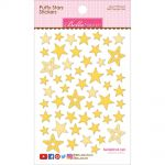 "Bella Blvd - Puffy Stars Stickers 4.25""X6"" - Bell Pepper Mix"
