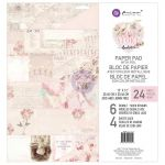 "Prima Marketing Inc - Love Story - Double-Sided Paper Pad 12""X12"" 24/Pkg - 6 Designs/4 Each"