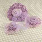 Prima Marketing Inc - Prima Flowers - Miss Sophie Collection - Lilac Mist
