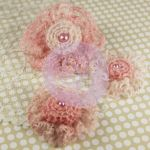 Prima Marketing Inc - Prima Flowers - Miss Sophie Collection - Baby Pink