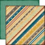 "Echo Park Paper Company - Reflections - 12x12"" Paper - Reflection Rulers"