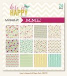 My Minds Eye - Record It - Here is Happy - 6x6 Paper Pad