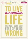 My Minds Eye - Record It - Here is Happy - 8x10 Word Art Pack