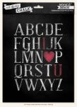 My Minds Eye - Record It - Chalk Line - 8x10 Word Art Pack