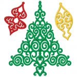 Spellbinders - Shapeabilities - 2012 Holiday Tree