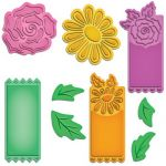 Spellbinders - Shapeabilities - Floral Tags