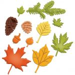 Spellbinders - Shapeabilities - Fall Foliage
