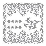 Spellbinders - Shapeabilities - Decorative Frames Dies - Draping Vines Frame