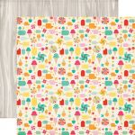 "Echo Park Paper Company - Summer Bliss Collection - 12x12"" Paper - Summer Treats"