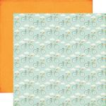"Echo Park Paper Company - Summer Bliss Collection - 12x12"" Paper - Bicycle Bliss"