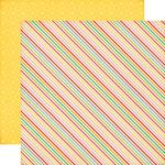 "Echo Park Paper Company - Summer Bliss Collection - 12x12"" Paper - Summer Stripes"