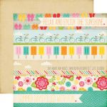 "Echo Park Paper Company - Summer Bliss Collection - 12x12"" Paper - Summer Days"