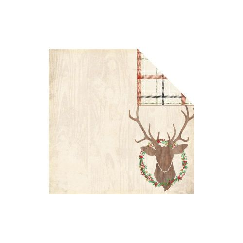 My Minds Eye - Sleigh Bells Ring Collection - Blitzen Paper