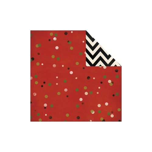 My Minds Eye - Sleigh Bells Ring Collection - Christmas Confetti Paper
