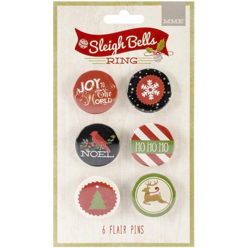 My Minds Eye - Sleigh Bells Ring Collection - Flair Pins