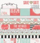 Teresa Collins Designs - Save the Date - 6x6 Pad