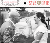 Teresa Collins Designs - Save the Date - Photo Overlays