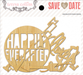 Teresa Collins Designs - Save the Date - Die Cut Wood