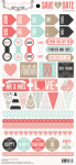 Teresa Collins Designs - Save the Date - 6x12 Decorative Stickers